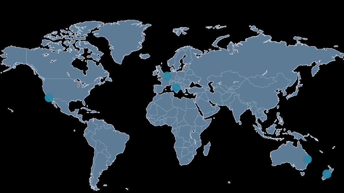 Metagenicsè un gruppo attivo a livello globale, con sedi negli Stati Uniti, Australia, Nuova Zelanda, Benelux e Italia